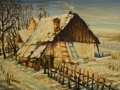 Zima na dedine / Wintertime in village