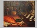 Zátišie so šachovnicou / Still life with chessboard