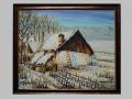 Chalúpka v zime / Cottage in wintertime