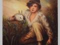 Chlapec s králikom / Boy with bunny