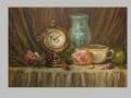 Zátišie s hodinami / Still life with clock