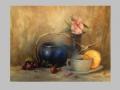 Zátišie s čajovou kanvicou / Tea pot still life