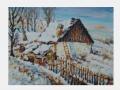 Chalúpka v zime II. / Little cottage in winter II.