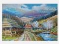 Jar v horskej dedinke / Spring in a mountain village