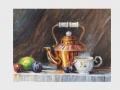 Zátišie s medenou čajovou kanvicou / Still life with copper teapot